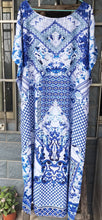 Load image into Gallery viewer, Bohemia Loose Printed Beach Cover-ups Maxi Dress