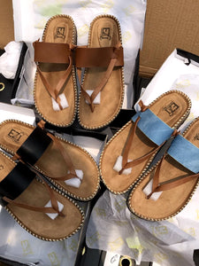 Ladies Herringbone Sandals Slippers