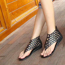 Load image into Gallery viewer, 2018 Beach Three Colors Flat Heel Sandals