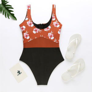 New One-piece Sweet Girly Swimsuit