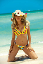 Load image into Gallery viewer, New Split Bikini Fashion Flash Print Swimsuit