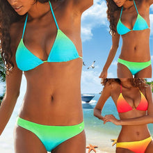 Load image into Gallery viewer, New Gradient Series Split Swimsuit Sexy Bikini