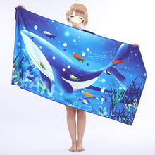 Load image into Gallery viewer, Printed Beach Towel Adult Printed Swimming Sweat Beach Seat Towel Bath Towel