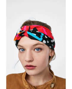 Summer Printed Elastic Headwear Hair Accessories