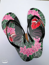 Load image into Gallery viewer, Flip-flops Women's Slippers Flat-bottom Holiday Beach Shoes Seaside Anti-skid Sandals