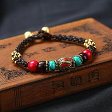 Load image into Gallery viewer, New Boho Ethnic Style Jewelry Nepal Bracelet Retro Creative DIY Wax Rope Woven Jewelry