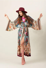 Load image into Gallery viewer, Printed Loose Beach Bikini Outer Cover Sunscreen Cardigan Outwear