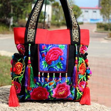 Load image into Gallery viewer, Ethnic Embroidery Shoulder Bag - 2