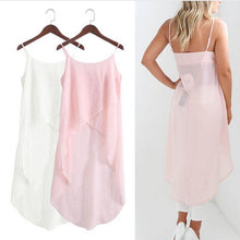 Load image into Gallery viewer, Chiffon Sling Dress Cardigan Top