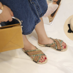 Peep Toe Casual Comfort Sandals