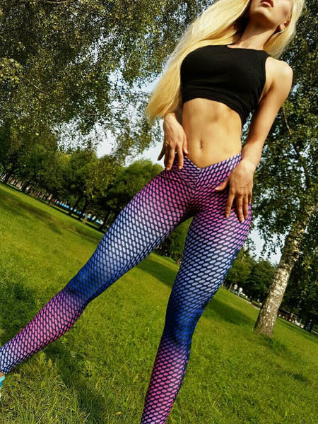 Fashion Printed Yoga Sweatpants