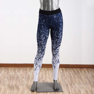 Printed Sports Stretch Tight Yoga Pants