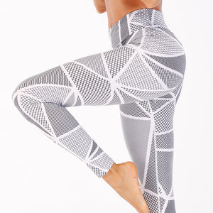 Printed Yoga Fitness Sports and Leisure Set