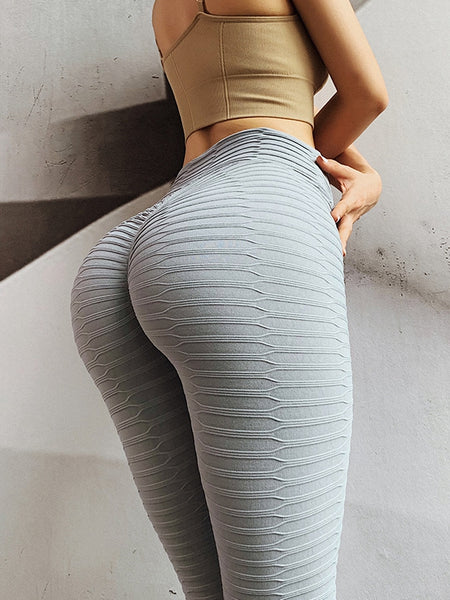 Hips Breathable Sports Yoga High Waist Tight Leggings