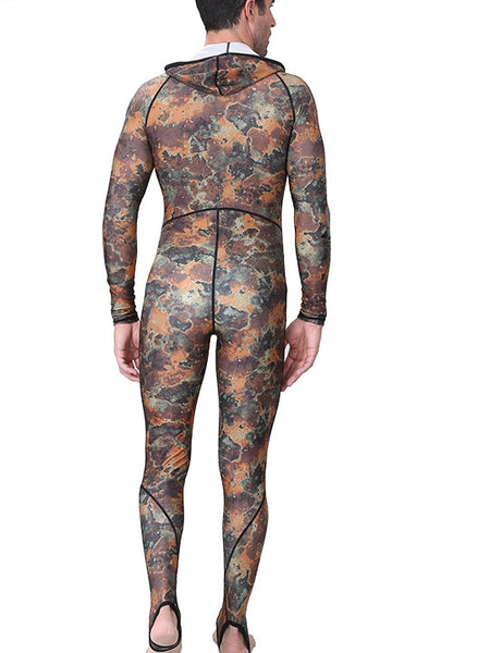 Camouflage Diving Suit Hooded Surf Suit