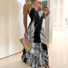 Load image into Gallery viewer, Slim Fit Printed Camisole Long Dress