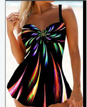 Load image into Gallery viewer, Women's One-piece Multicolor Sling Swimsuit