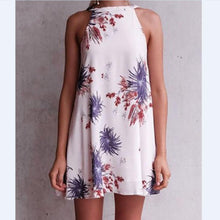 Load image into Gallery viewer, New 2018 Printed Sleeveless Casual Mini Dress