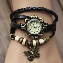 Load image into Gallery viewer, Vintage  Bracelet Women Butterfly Pendant Watch