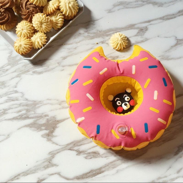 Donuts Inflatable Floating drink holder Swimming Toy