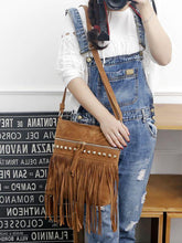 Load image into Gallery viewer, Crossbody Willow Tassel Casual wild Shoulder Bag