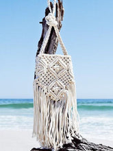 Load image into Gallery viewer, Vintage Knit Tassel White Casual Bag For Women