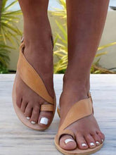 Load image into Gallery viewer, Summer Flat Heel Beach Sandals