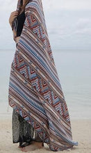 Load image into Gallery viewer, Print Retro Linen Bohemia Shawl