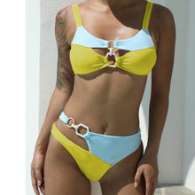 Load image into Gallery viewer, Bikini Swimsuit with Double Ring Stitching