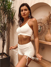 Load image into Gallery viewer, Sexy High-waisted Solid-colored Split Bikini Swimwear