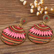 Load image into Gallery viewer, 4 Colors Bohemia Hollow Earrings For Women