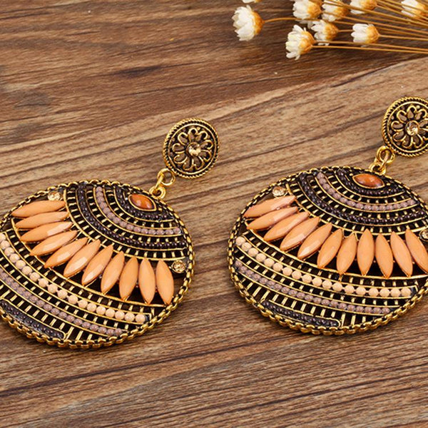 4 Colors Bohemia Hollow Earrings For Women
