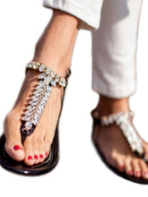 Load image into Gallery viewer, Summer Beach Flat Heel Clip Toe Sandals