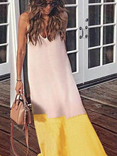 Load image into Gallery viewer, Casul Beach Chiffon Sling Sexy Long Dress