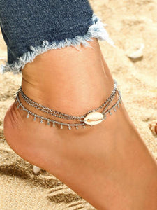 2018 Beautiful Circle Shell Footchain Accessories