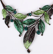 Load image into Gallery viewer, Fashion Boho Leaf Necklace And Earring Suit