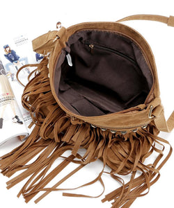 Crossbody Willow Tassel Casual wild Shoulder Bag