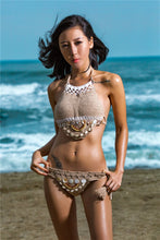 Load image into Gallery viewer, 2018 Knit Beach Swimwear Bikini Sets