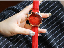 Load image into Gallery viewer, Fashion Women PU Band Butterfly Watch