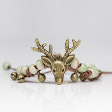 Load image into Gallery viewer, Deer Woman Sweet Woman Handmade Bracelet Ethnic Fashion Retro Ceramic Jewelry