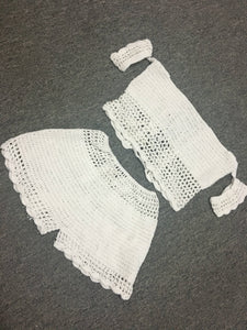 Sexy Openwork Handmade Knit Beach Swim Trunks