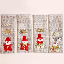 Load image into Gallery viewer, Xmas Wine Bottle Cover Bag Christmas table set