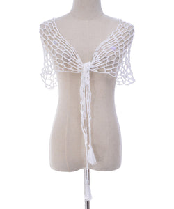 Beach Shawl Sunscreen Sexy Fishnet Sequin Triangle Cover-up