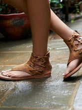 Load image into Gallery viewer, 2018 Fashion Bandage Flat Sandals Shoes For Women