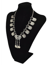 Load image into Gallery viewer, Retro Coin Tassel Accessories Necklace