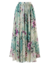Load image into Gallery viewer, Bohemia Floral Beach Skirt