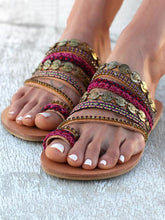Load image into Gallery viewer, Beach Flat Sandals For Women