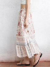 Load image into Gallery viewer, High Waist Print Beach Casual Skirt