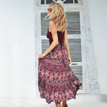 Load image into Gallery viewer, Bohemia Print Beach Skirt For Women