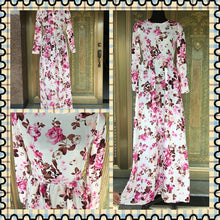 Load image into Gallery viewer, New Summer Printed Long Sleeve High Waist Maxi Dress